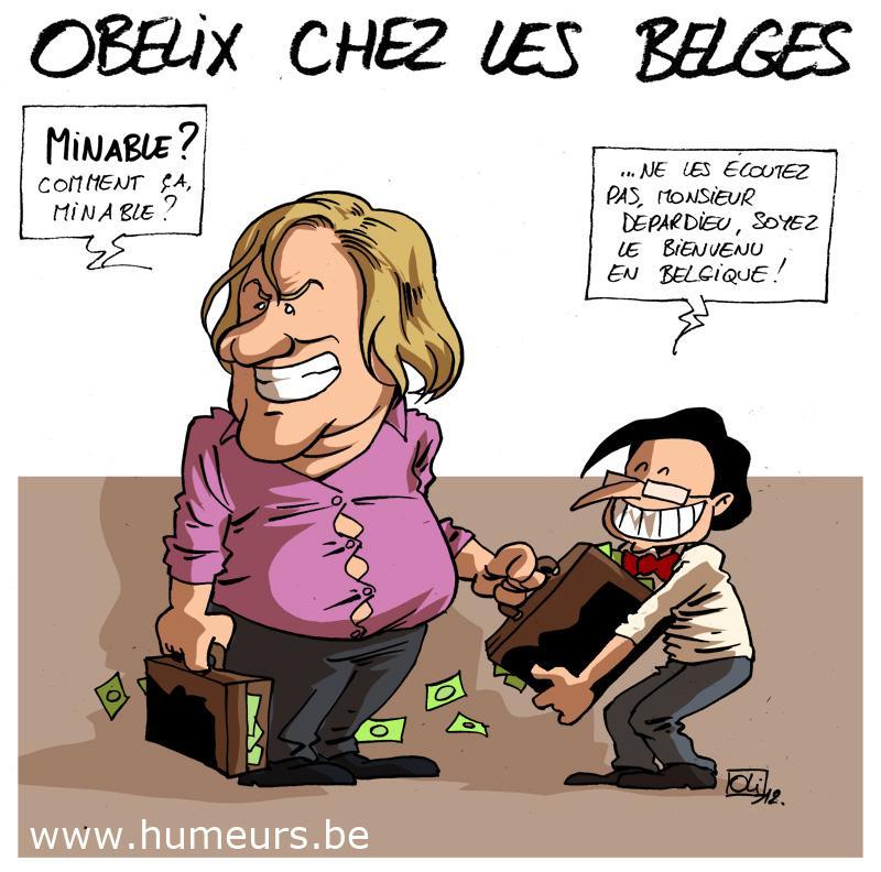 Depardieu Belgique