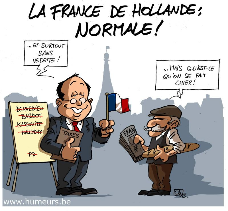 Hollande France taxes