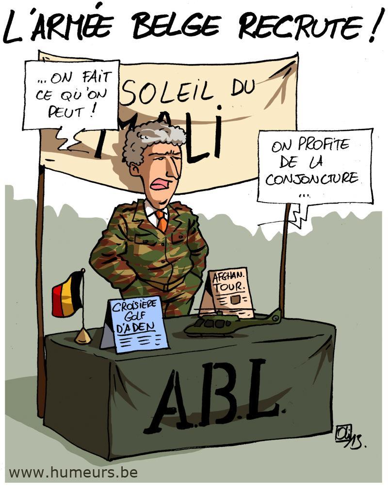 armée belge mali