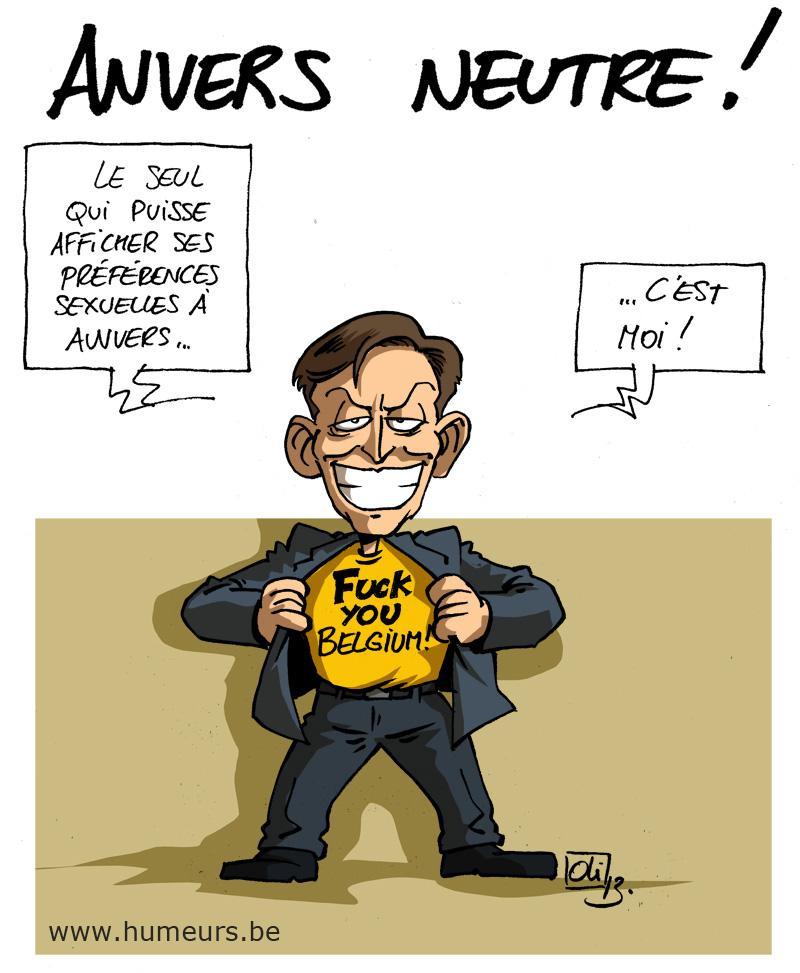 Bart De Wever Anvers homosexualité