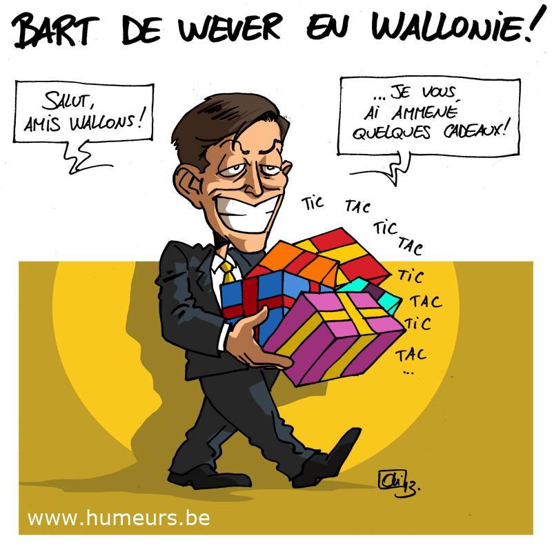Bart De Wever en Wallonie