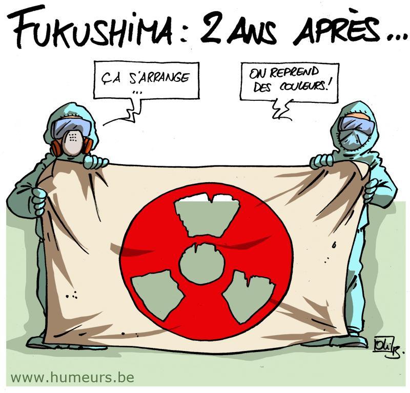 fukushima 2 ans