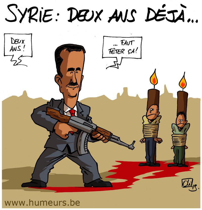 Syrie guerre 2 ans