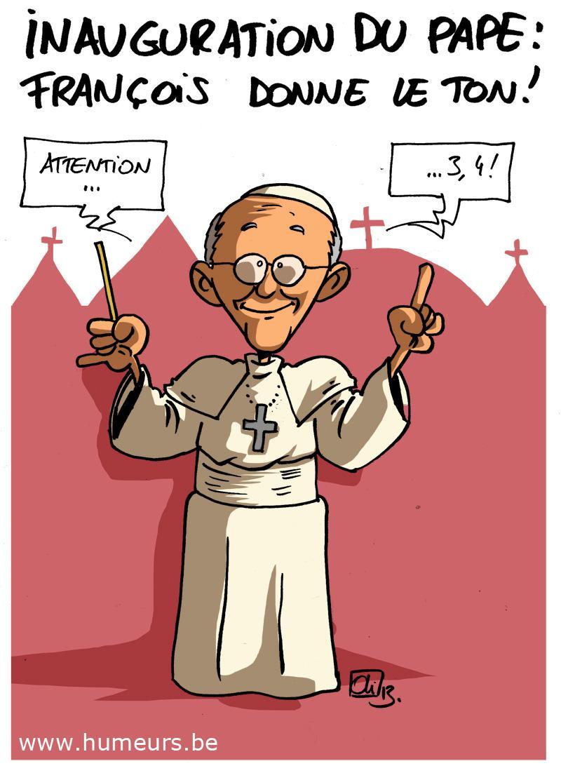 pape Francois inauguration