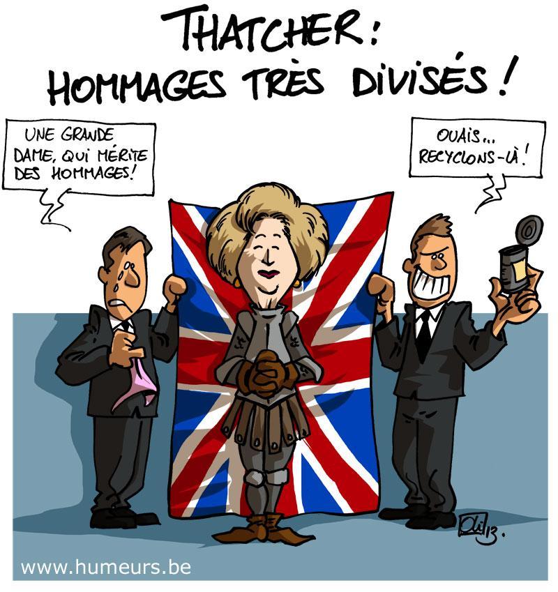 Margaret Thatcher mort