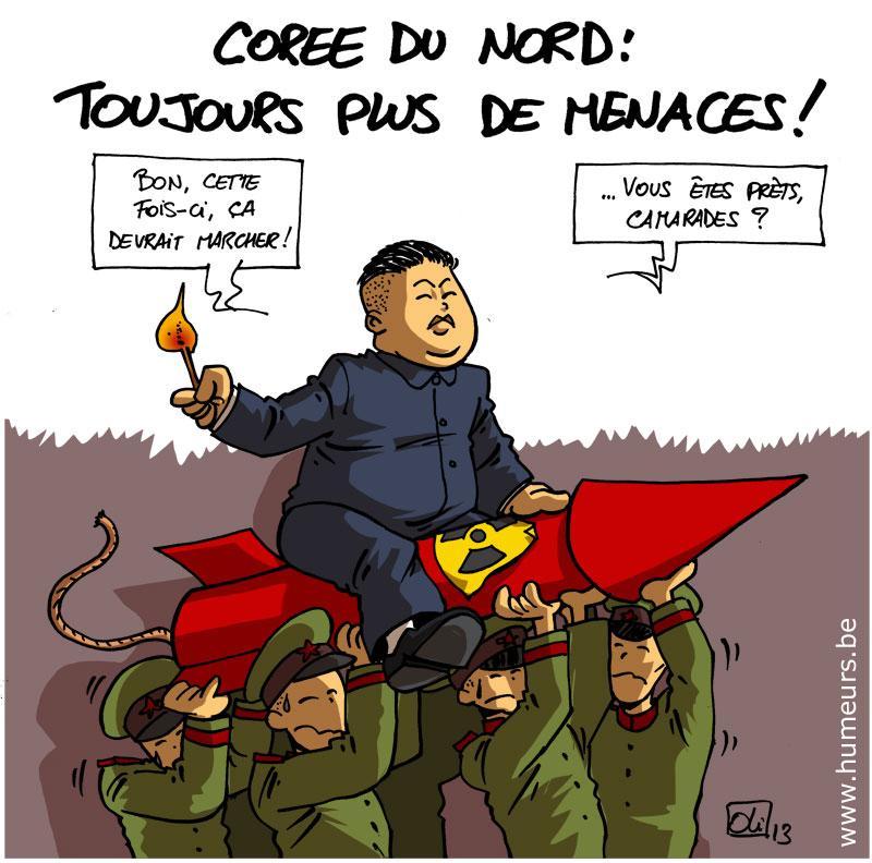 Coree du Nord guerre nucleaire