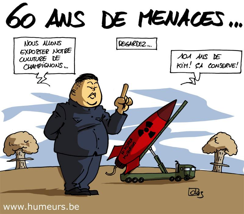 Coree du Nord nucleaire