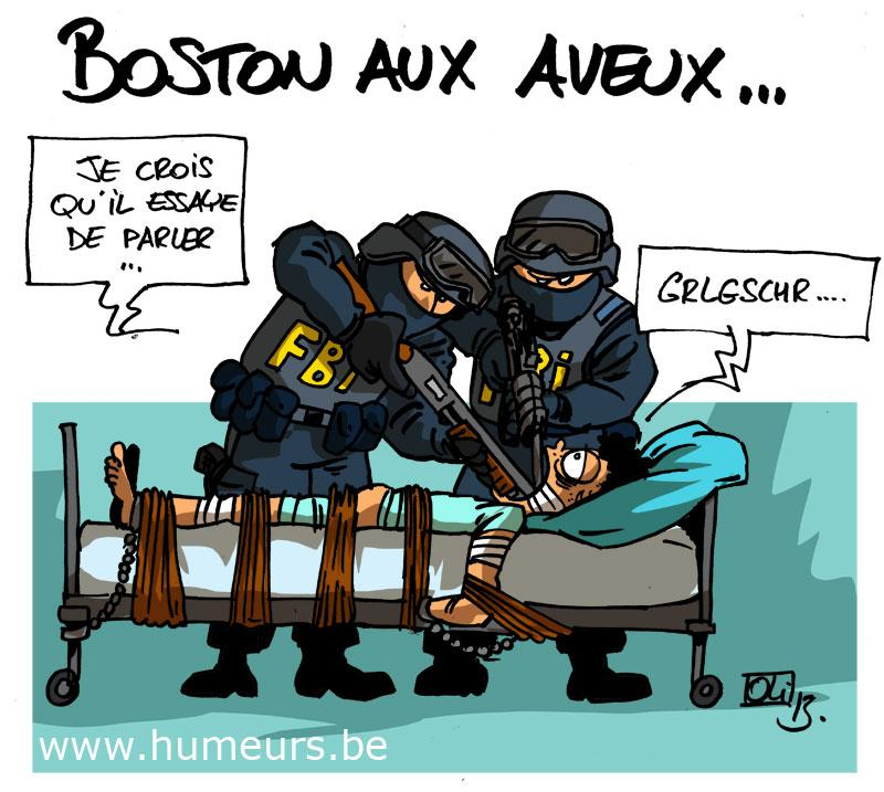 USA Boston suspects attentat