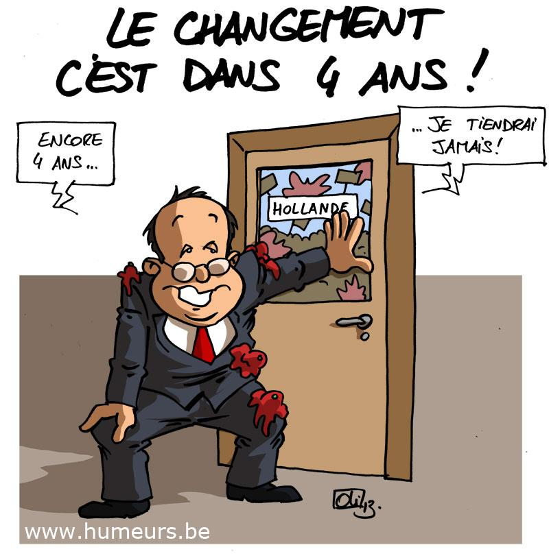 Francois Hollande 1 an