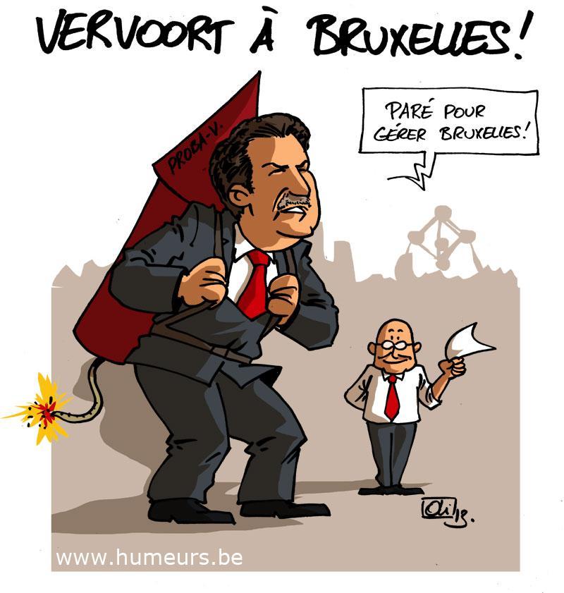 Bruxelles Charles Picque Rudi Vervoort