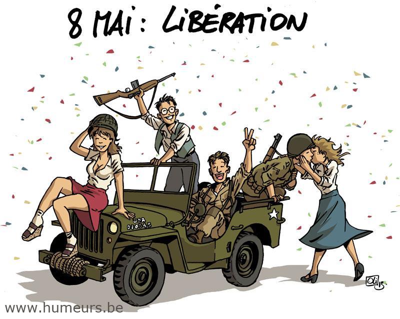 Libération 8 mai 1945