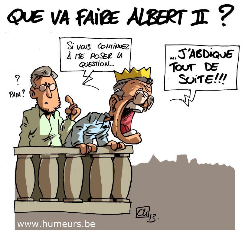 Ablert 2 abdication Belgique
