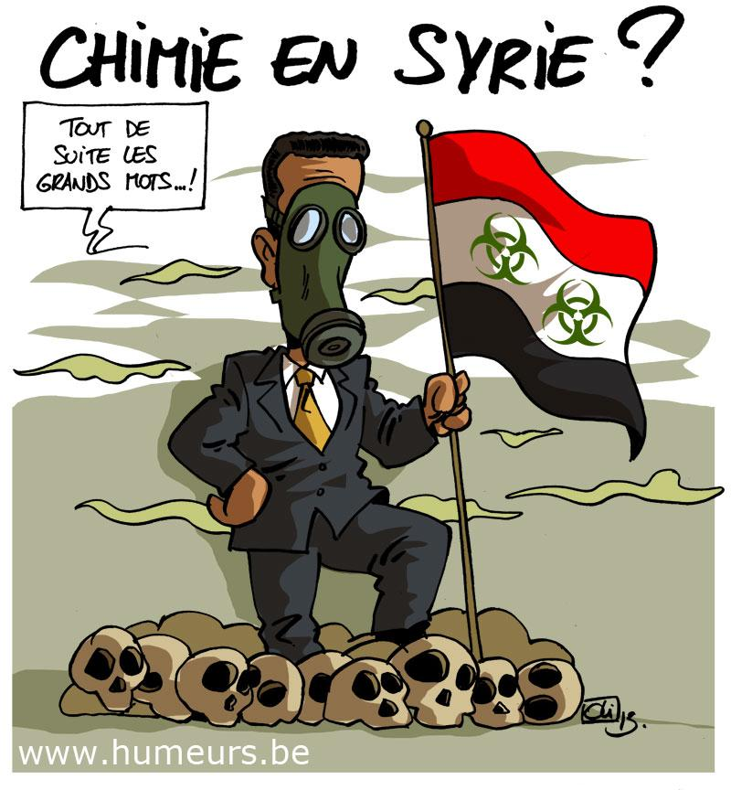 armes chimiques Syrie