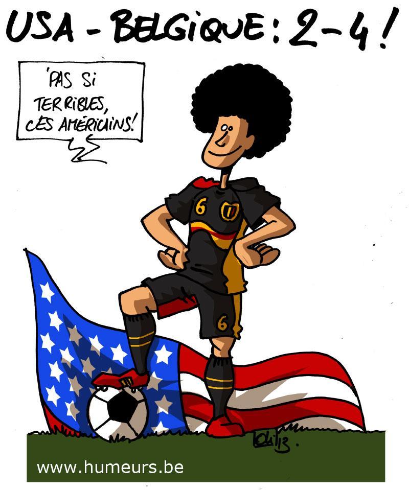 USA Belgique 2-4