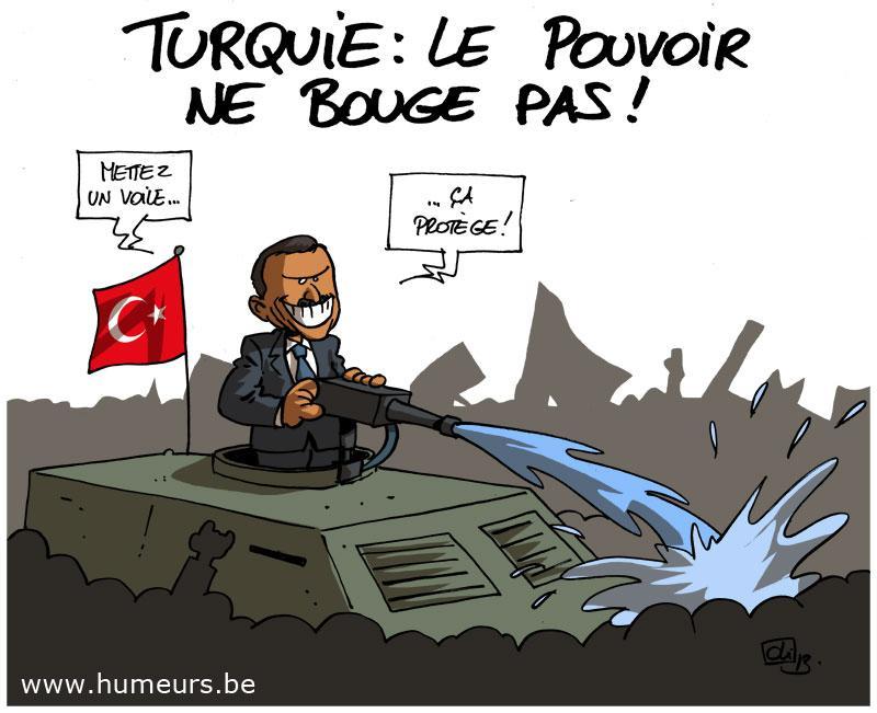 manfiestations Turquie