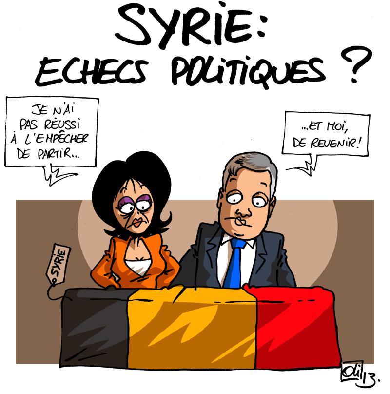 Belgique Syrie