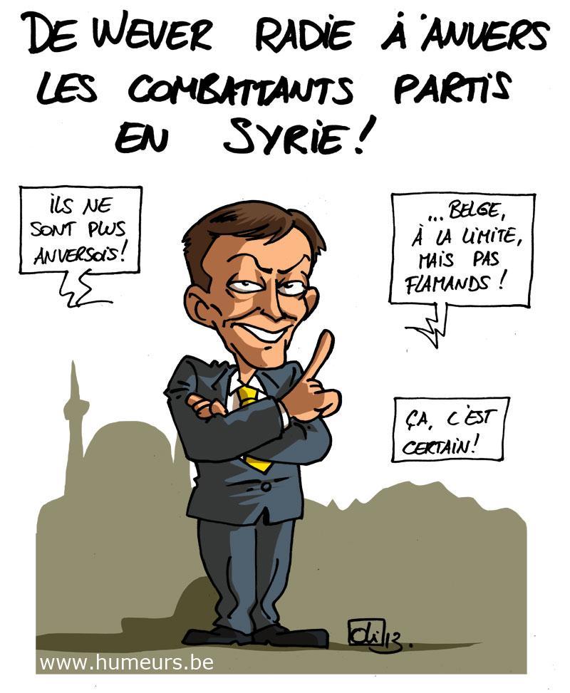 Bart De Wever Syrie