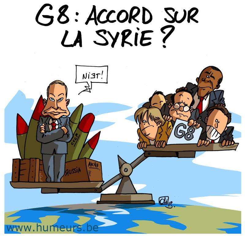 G8 Russie Syrie
