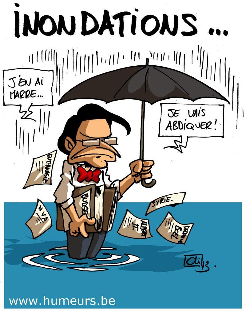 inondations Belgique