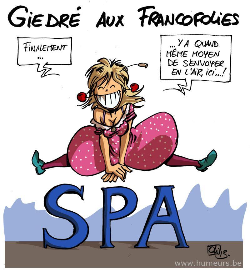 GiedRé Francofolies Spa