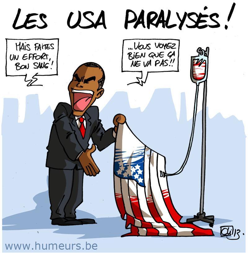 Shut down aux usa obama s 39 nerve les humeurs d 39 oli - Plafonds securite sociale depuis 1980 ...