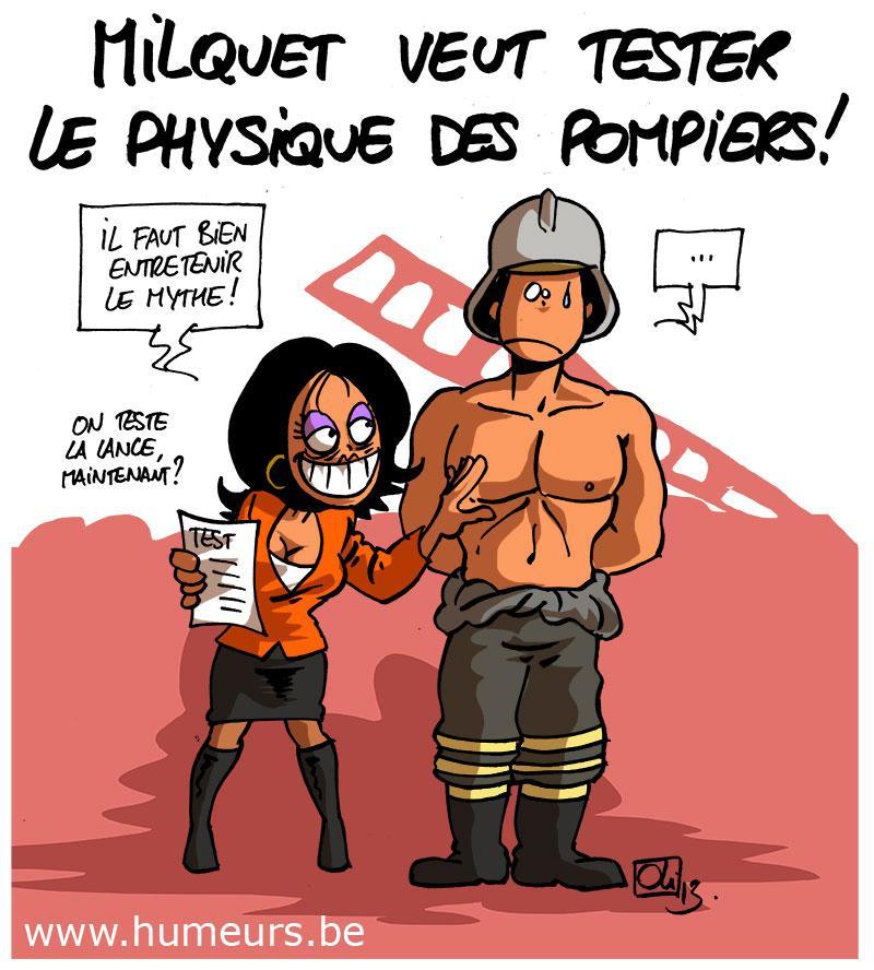 Milquet-pompiers