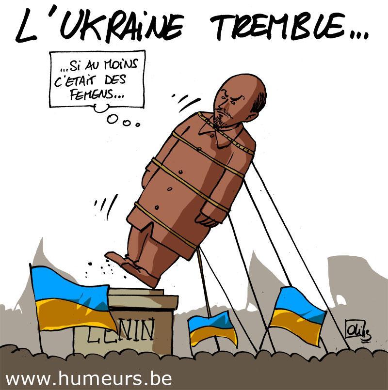 Ukraine-Lenine