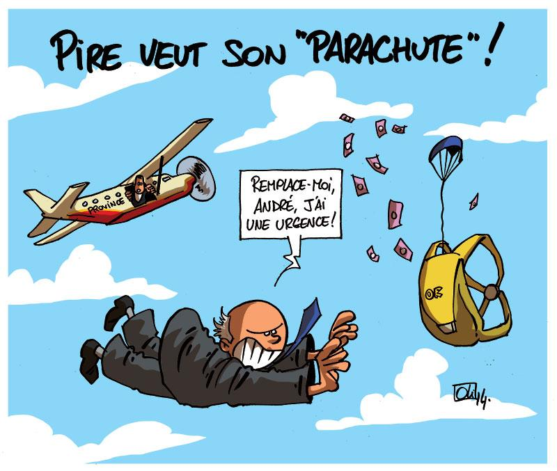 Georges-Pire-Andre-Denis-parachute