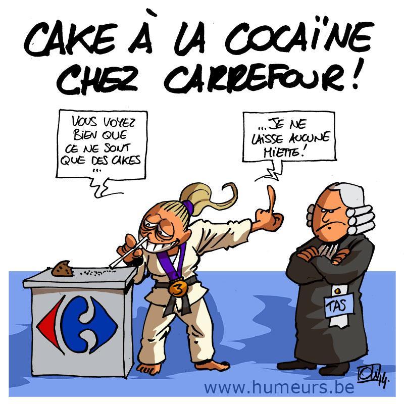 Cake-cocaine-carrefour-Van-Snick