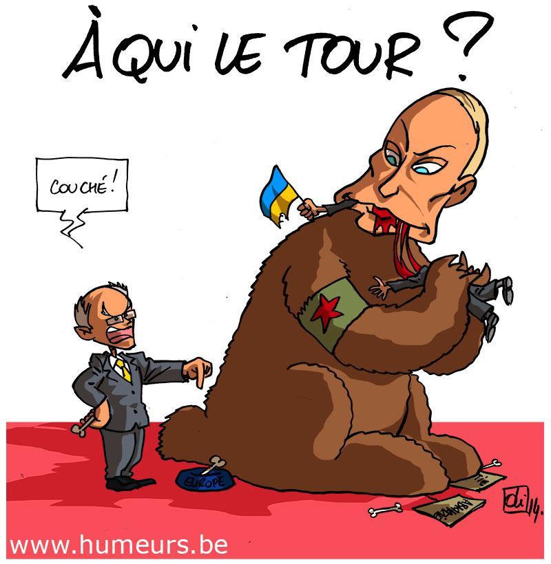 Ukraine-Europe-Russie