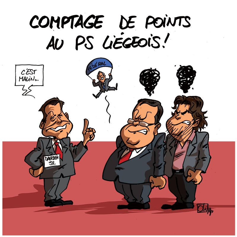 PS-Liège,Frédéric Daerden