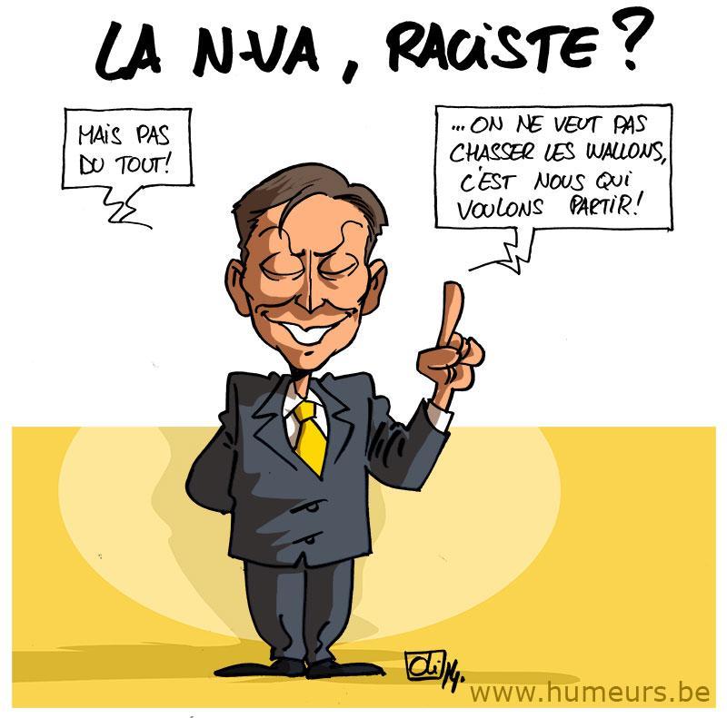 NVA-raciste-Francis-Delperee