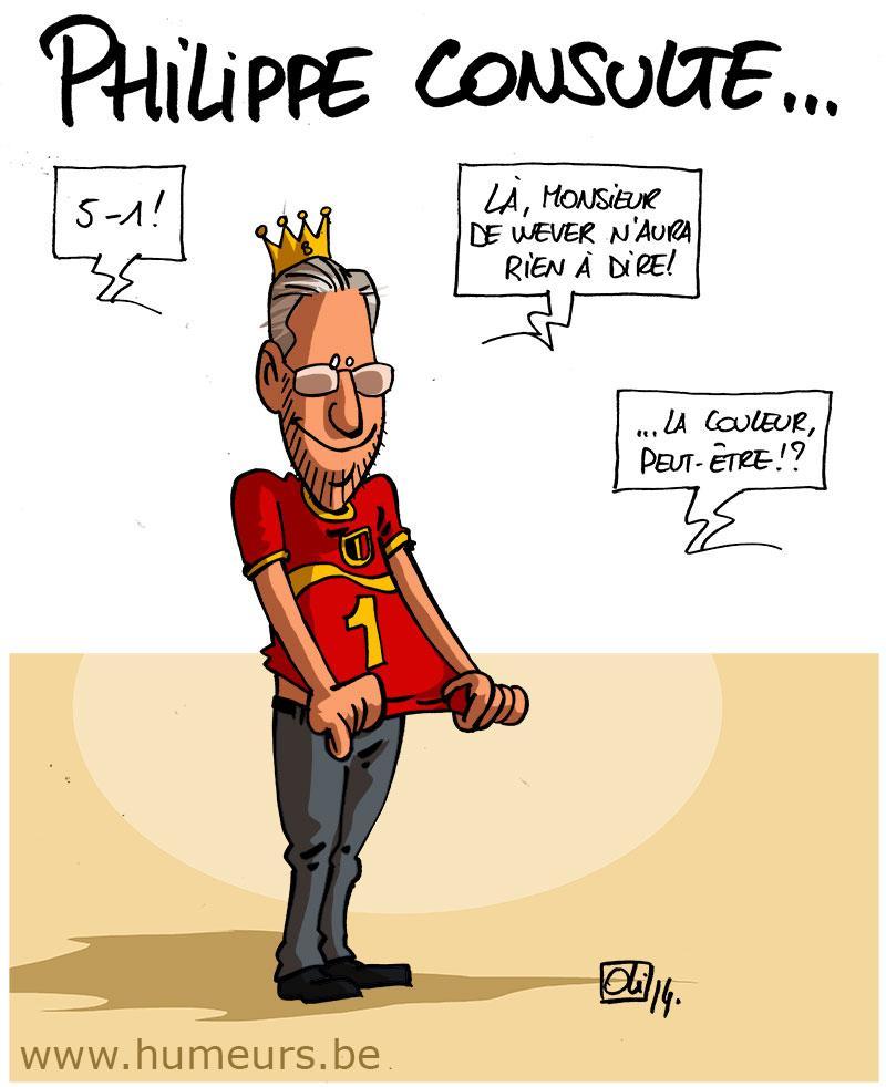 Roi-Philippe-Diables-Rouges