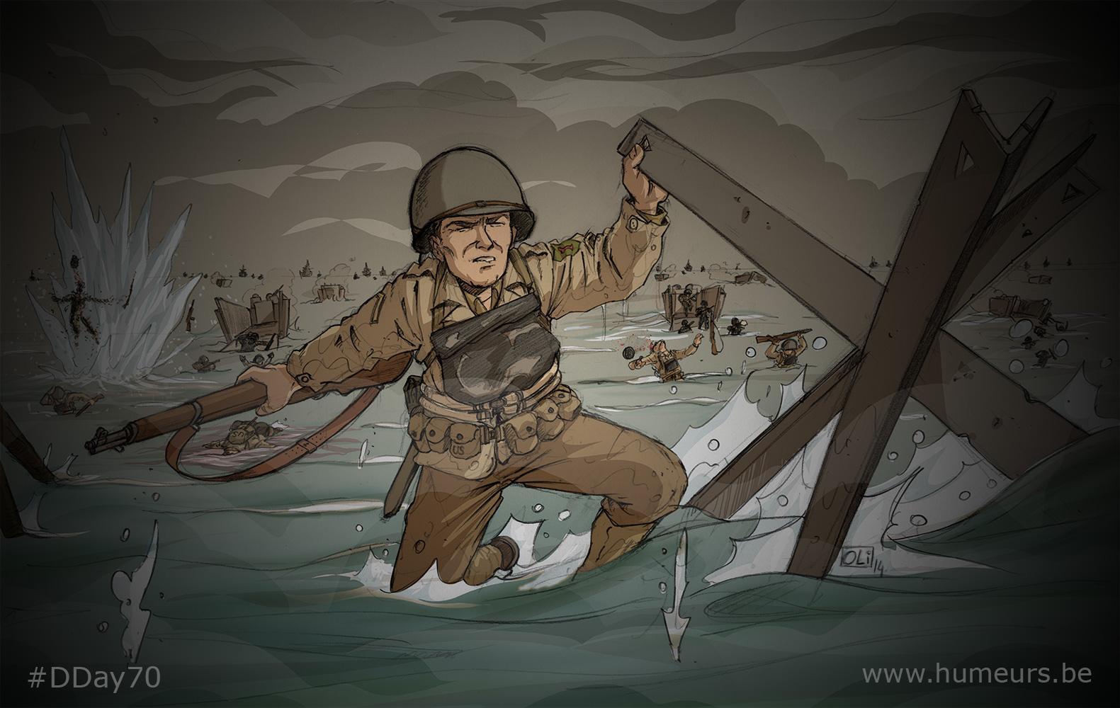 DDay70-Oli-Normandie-1944