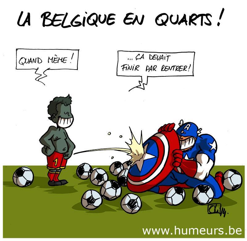 Belgique-USA-CM2014