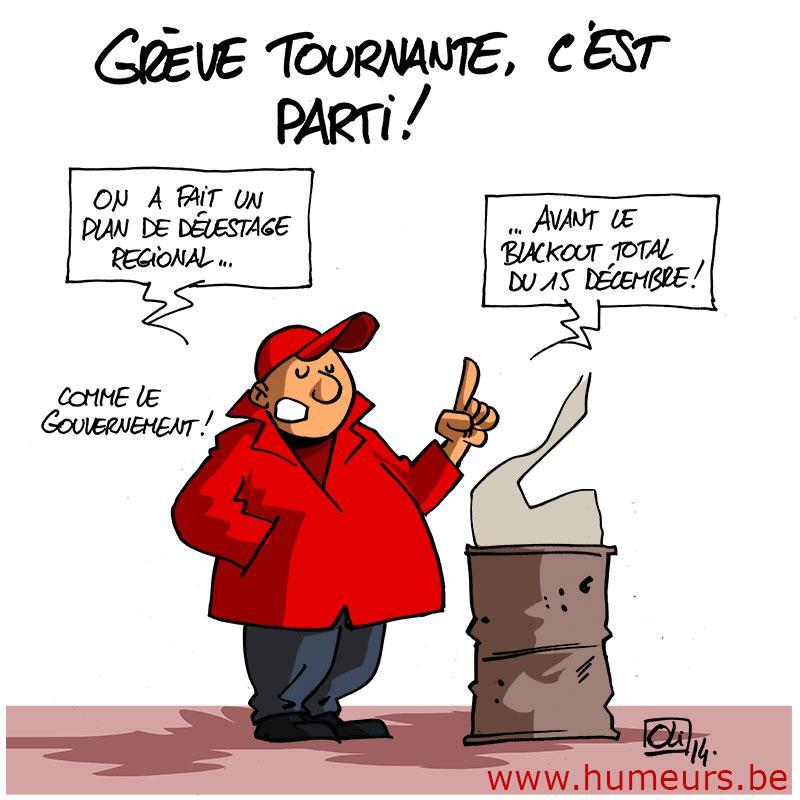 greve-tournante-belgique