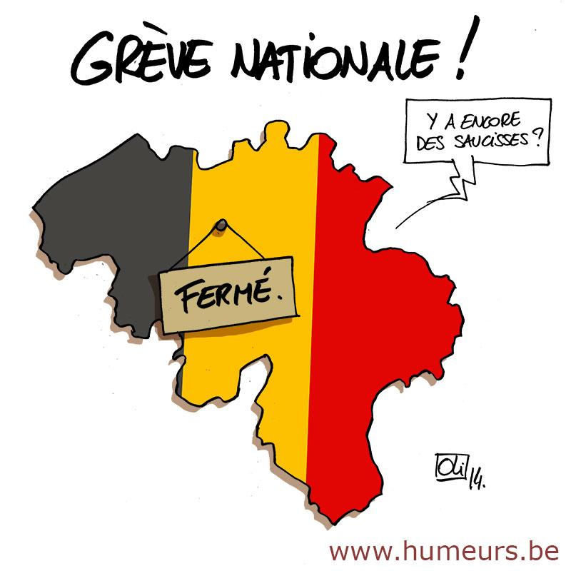 greve-nationale-Belgique-15-decembre
