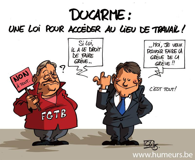 Denis-Ducarme-loi-greve