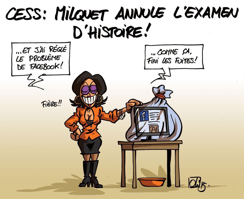Joezlle-Milquet-annule-histoire-examen-CESS