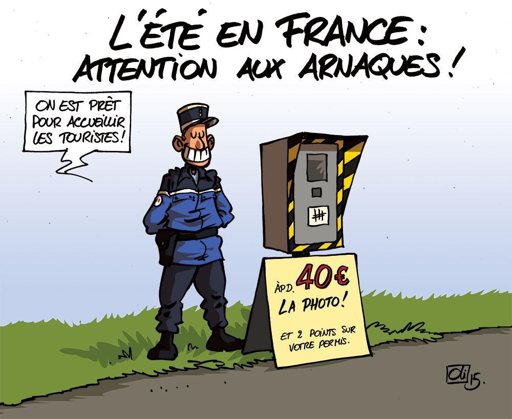 Gendarmerie les humeurs d 39 oli - Gendarme dessin ...