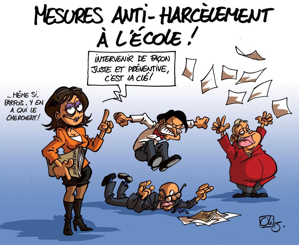 Célèbre harcèlement | Les humeurs d'Oli PQ67
