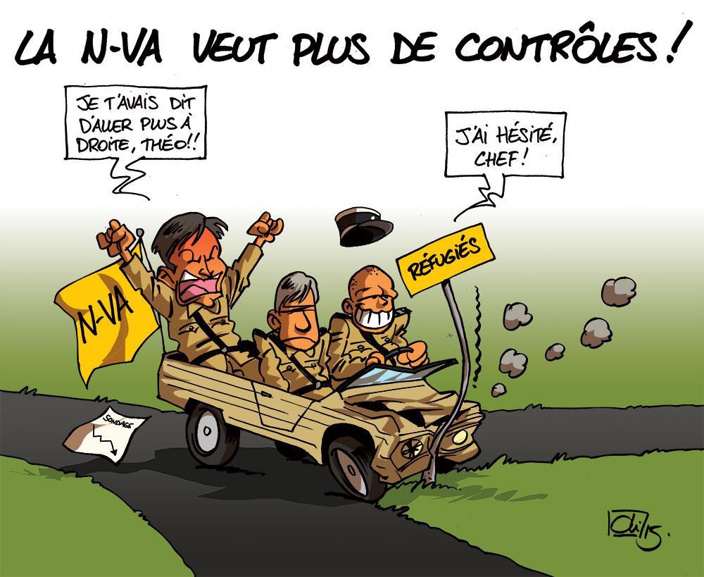 NVA-Gendarme-Jan-Jambon-Theo-Francken-Bart-De-Wever