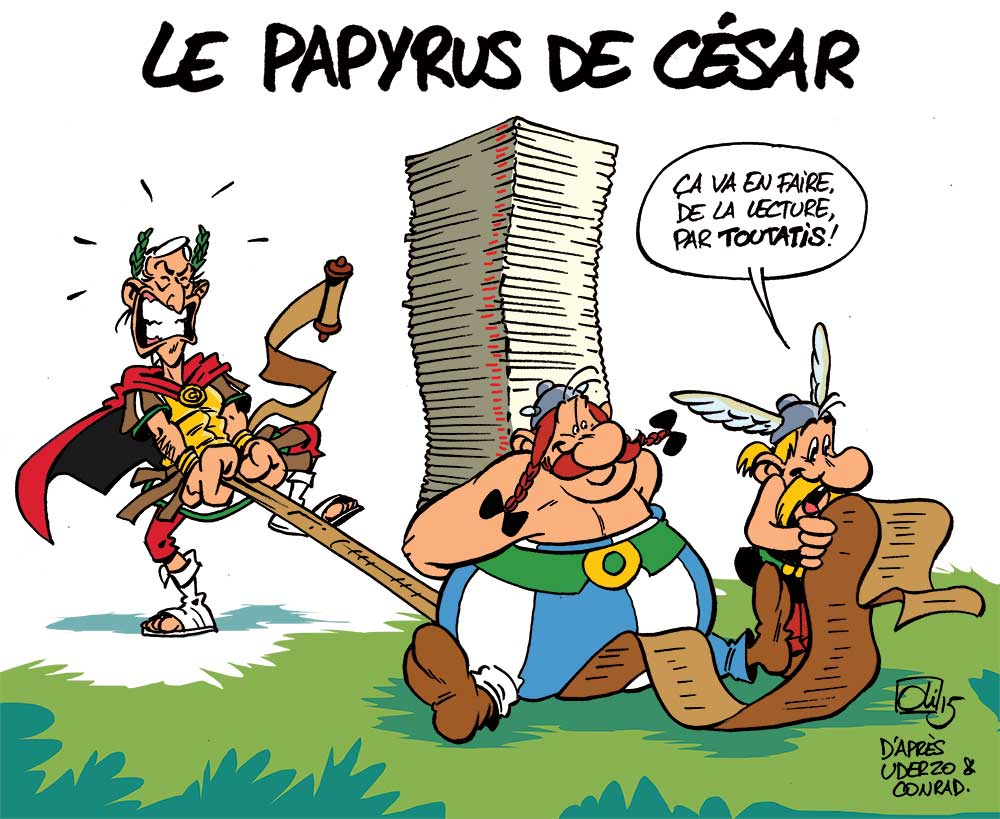 Asterix-Obelix-papyrus-Cesar-Oli
