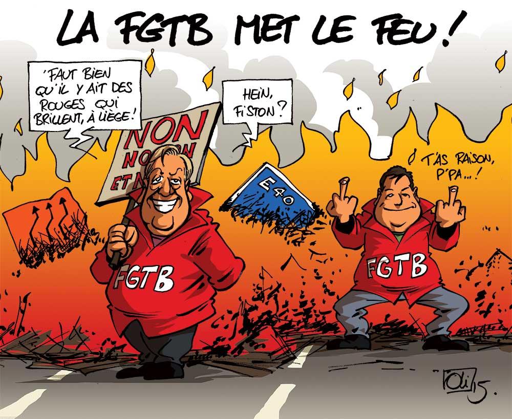 grève-FGTB