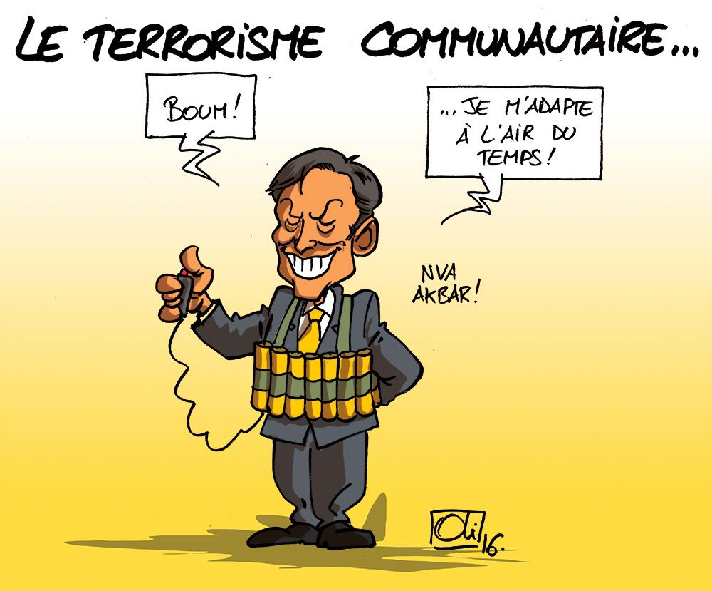 Bart-De-Wever-terrorisme-communautaire