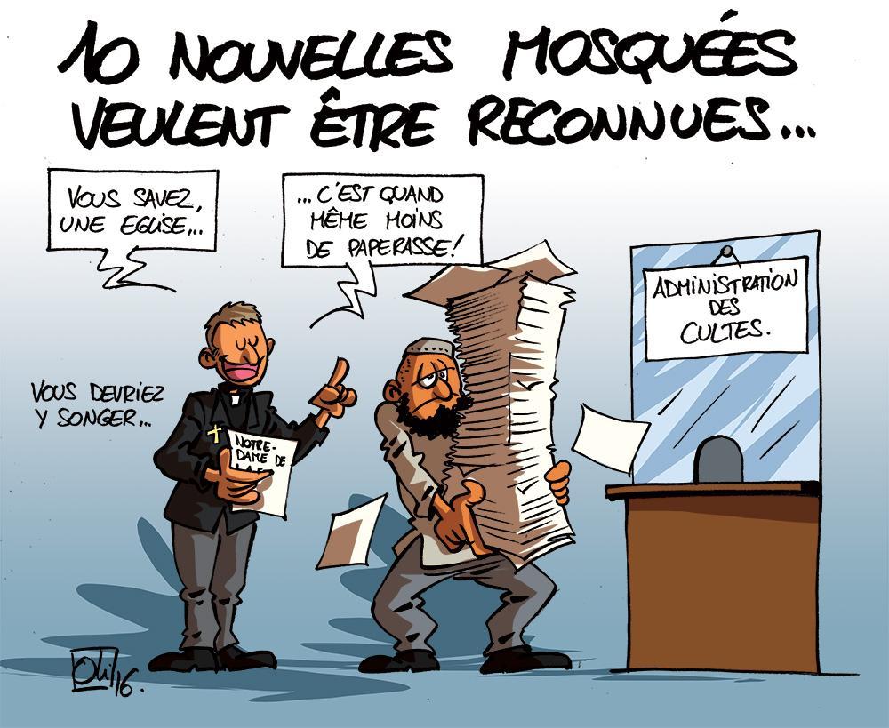 Mosquees-Belgique