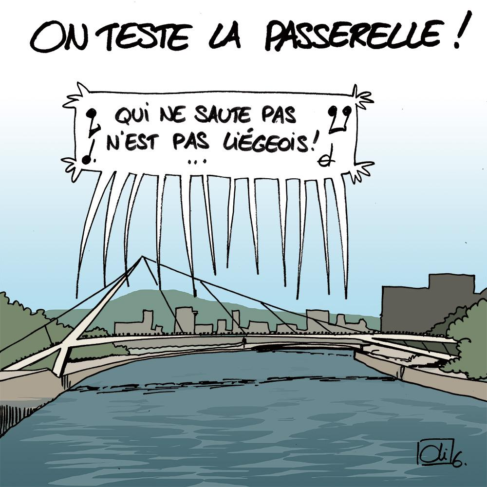 Passerelle-Liège