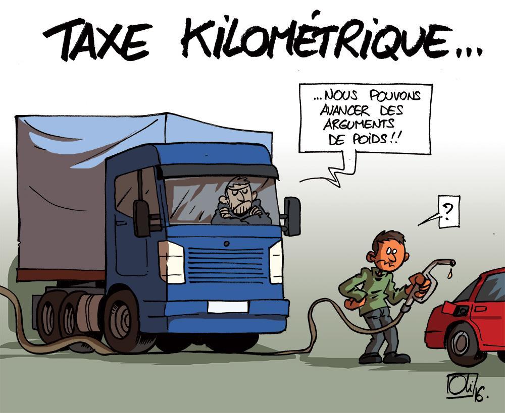 grève-Camion-wallonie-taxe-kilometrique