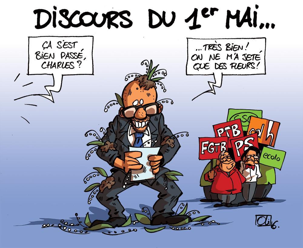 muguets-1er-Mai-Charles-Michel-Marc-Goblet-Elio-Di-Rupo