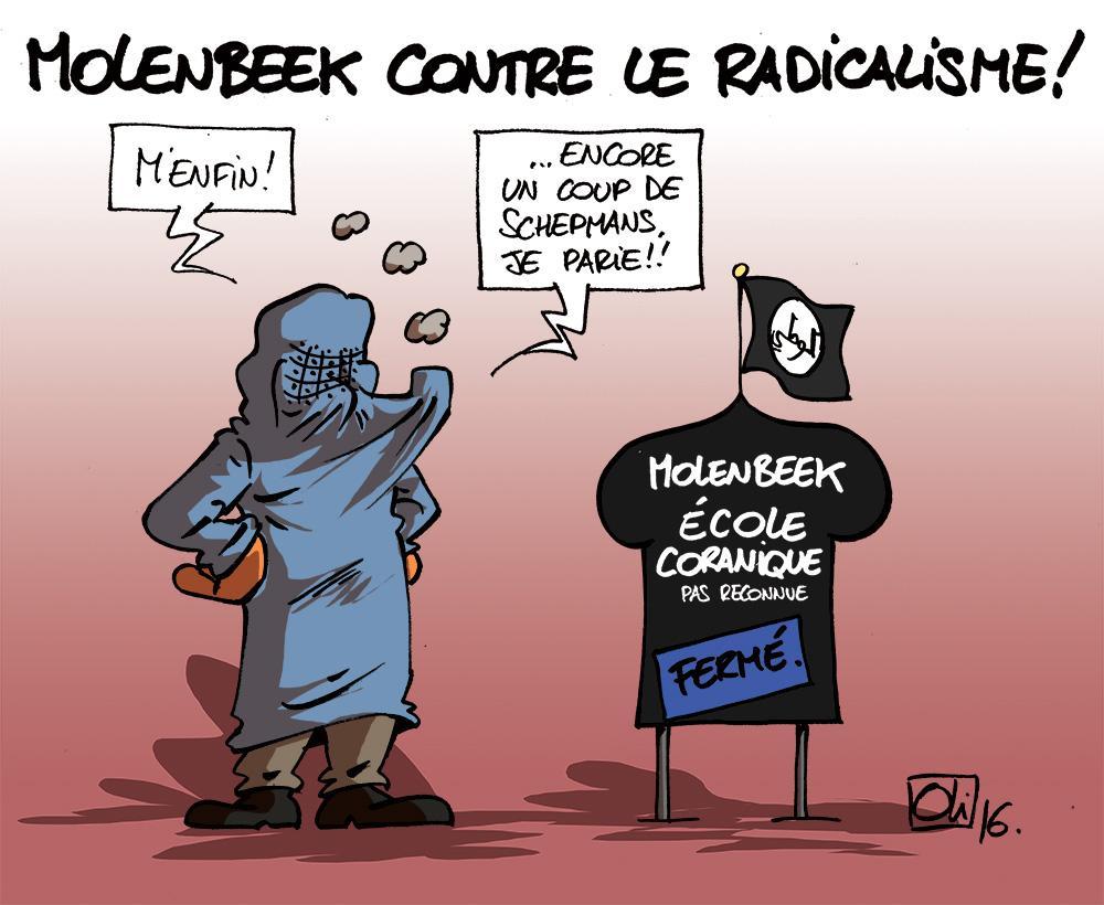 Ecole-Coranique-Molenbeek-islam-fermer-niqab
